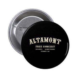 Altamont libèrent le concert badges avec agrafe