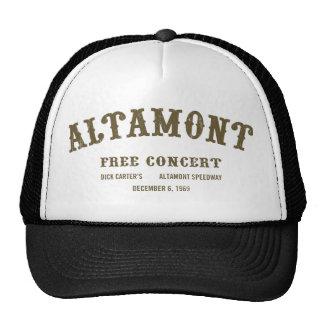 Altamont libèrent le concert casquettes