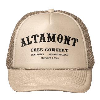 Altamont libèrent le concert casquette de camionneur