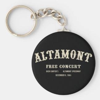 Altamont libèrent le concert porte-clés
