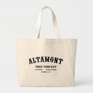 Altamont libèrent le concert sac en toile jumbo