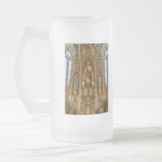 Altar At St Peter Frosted Glass Beer Mug