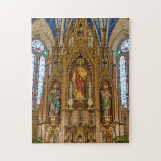 Altar At St Peter Jigsaw Puzzle
