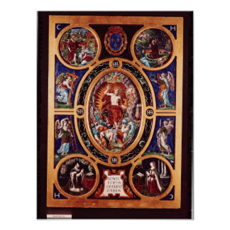 Altarpiece of Sainte-Chapelle Poster