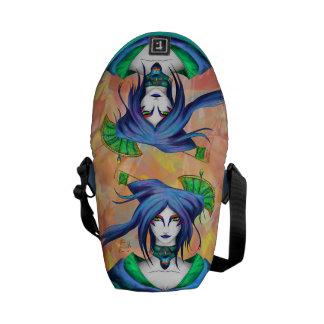 AltDelta : Blue Geisha - Mini Messenger Bag