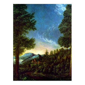 Altdorfer Danube Landscape near Regensburg Postcard