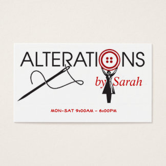 Alteration Business Card