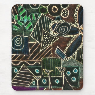 Altered Doodle Mouse Pad