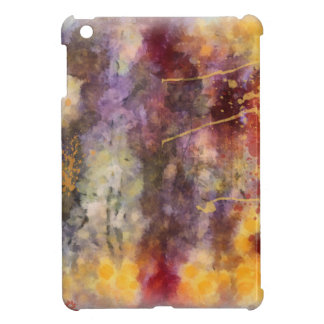 Altered Floral Art - Warm Tones Cover For The iPad Mini