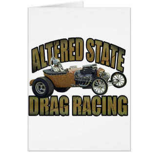 altered state drag racing hot rod card