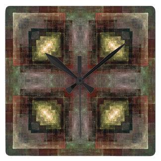 Alternate Dimensions Tiled Clock