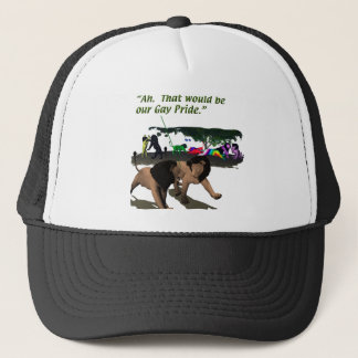 Alternate Lifestyles - LGBT - Lions, Gay Pride Trucker Hat