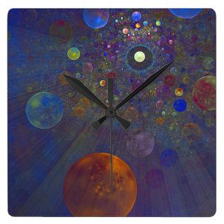 Alternate Universe Abstract Art Wallclocks