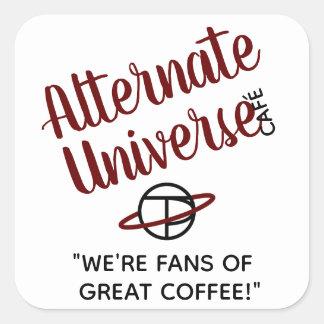 Alternate Universe Café stickers