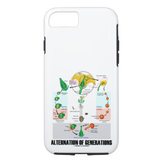 Alternation Of Generations Flower Life Cycle iPhone 8/7 Case