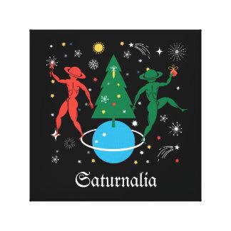 Alternative Christmas Canvas Print