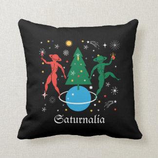 Alternative Christmas Throw Pillow