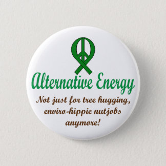 Alternative Energy 2 Inch Round Button