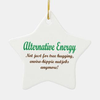 Alternative Energy Ceramic Ornament