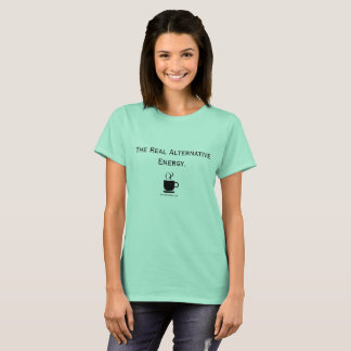 Alternative Energy Coffee Lover Tee Shirt