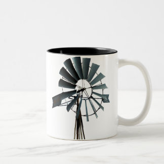 Alternative Energy - Pinwheel Windmill Power Two-Tone Coffee Mug