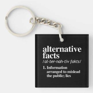 Alternative Facts Definition Keychain