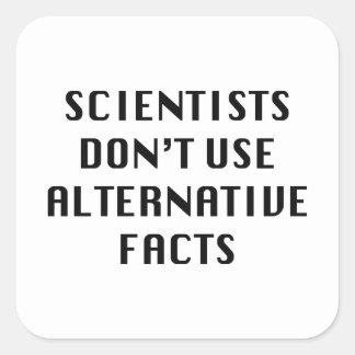 Alternative Facts Square Sticker