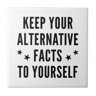 Alternative Facts Tile