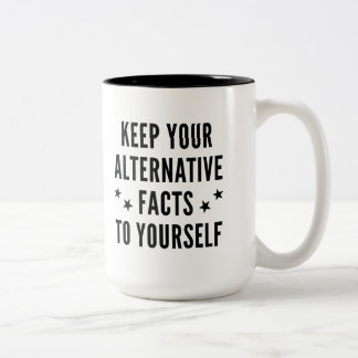 Alternative Facts Two-Tone Coffee Mug