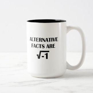 Alternative Facts Two-Tone Coffee Mug