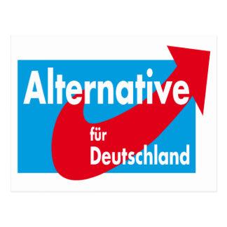 Alternative fur Deutschland Logo Postcard