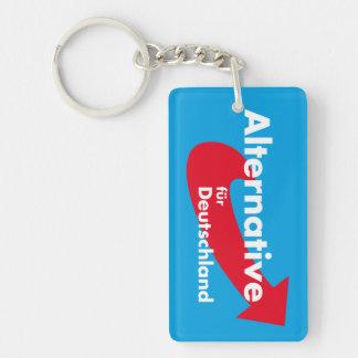 Alternative für Deutschland Single-Sided Rectangular Acrylic Keychain
