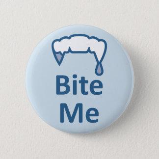 Alternative Gothic Emo facebook BITE ME badge 2 Inch Round Button