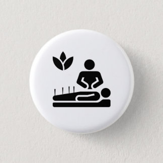 Alternative Medicine Pictogram Button