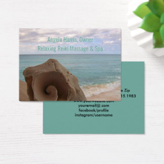 Alternative Medicine Reiki | Holistic Health Business Card