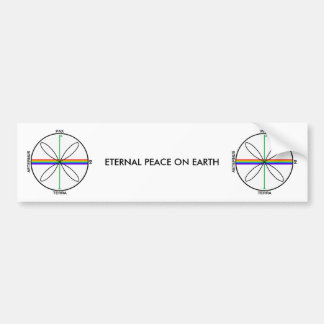 Alternative Peace Symbol Bumper Sticker
