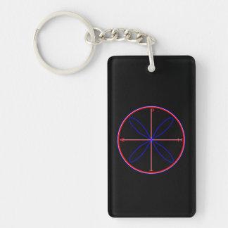 Alternative Peace Symbol Keychain