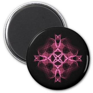 Alternative Pink Celtic Cross Magnet