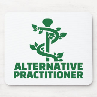 Alternative practitioner mouse pad