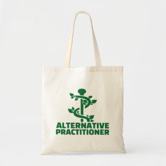 Alternative practitioner tote bag