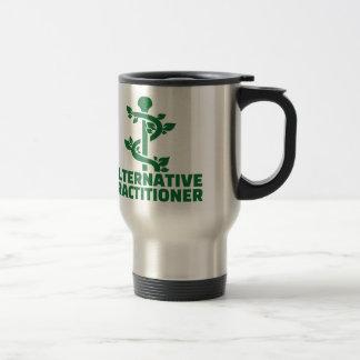 Alternative practitioner travel mug