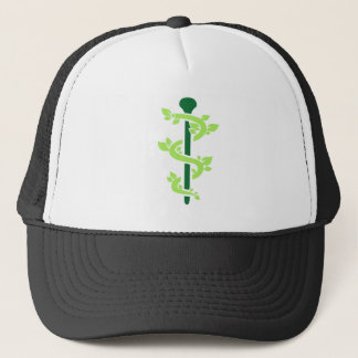 Alternative practitioner trucker hat