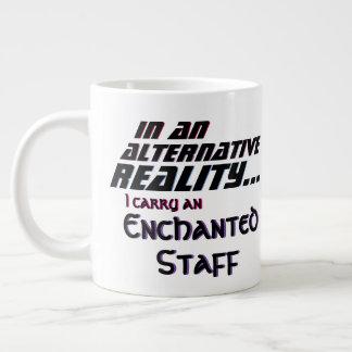 Alternative Reality Enchanted Staff Large Coffee Mug