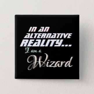 Alternative Reality Wizard RPG 2 Inch Square Button