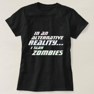 Alternative Reality Zombie Slayer MMORPG T-Shirt