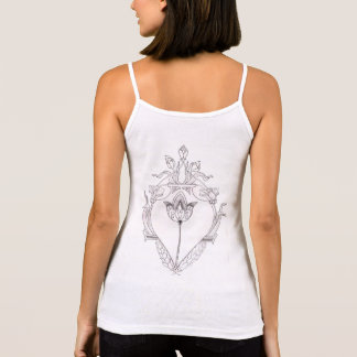 alternative regatta with drawing in the coasts tank top