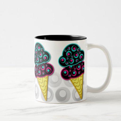 Alternative Retro Ice Cream Cones - mug