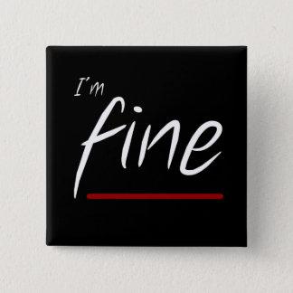 Alternity: Fine 2 Inch Square Button