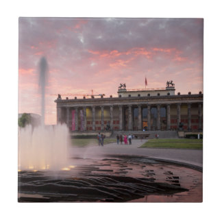 Altes Museum and Lustgarten in Berlin Ceramic Tiles
