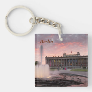 Altes Museum and Lustgarten in Berlin Keychain